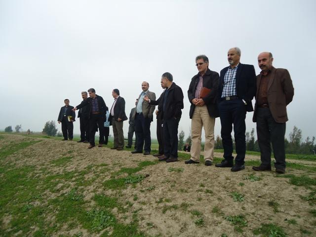 DSC09631 بازدید افراد شورای اداری و همچنین برنامه جذاب و جالب و خوب ریزی مرکز تحقیقات و همچنین آموزش گلستان از آب بندان شهید روحانی فرد کردکوی