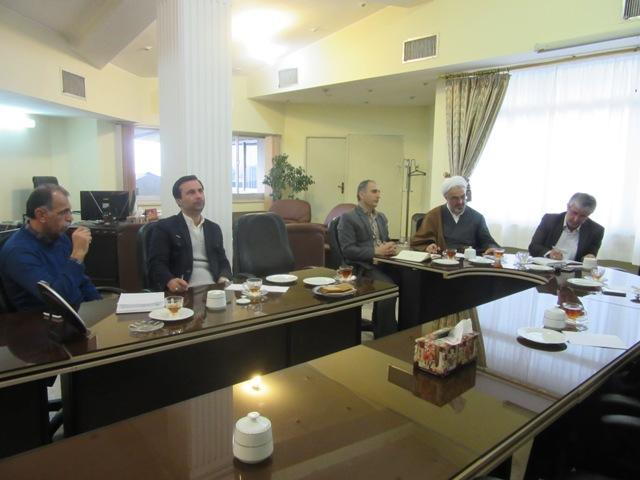 IMG 0027 نمایش هفتمین جلسه شورای فرهنگی در مرکز تحقیقات و همچنین آموزش گلستان