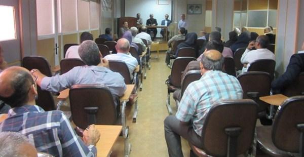 N975241B برگزاری جلسه عمومی در مرکز تحقیقات و همچنين آموزش گلستان