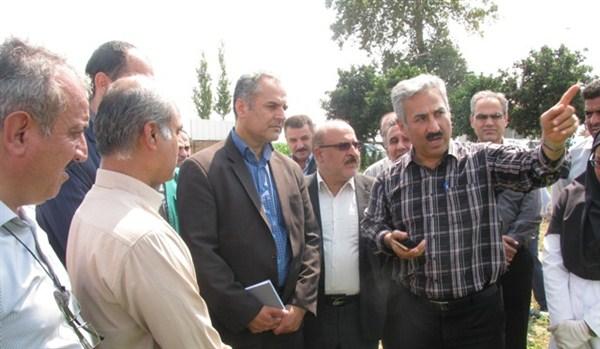 N97694B بازدید دکتر خاوازی از گنجینه طرح ها و همچنين دستاوردهای پژوهشی ایستگاه تحقیقات عراقی محله گرگان