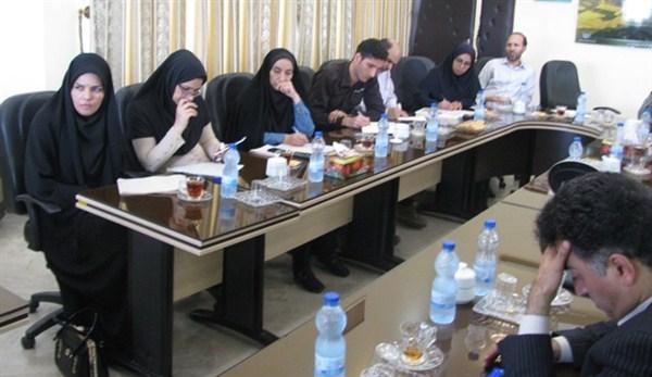 N97696B برگزاری نشست خبری دکتر خاوازی با اصحاب رسانه در استان گلستان