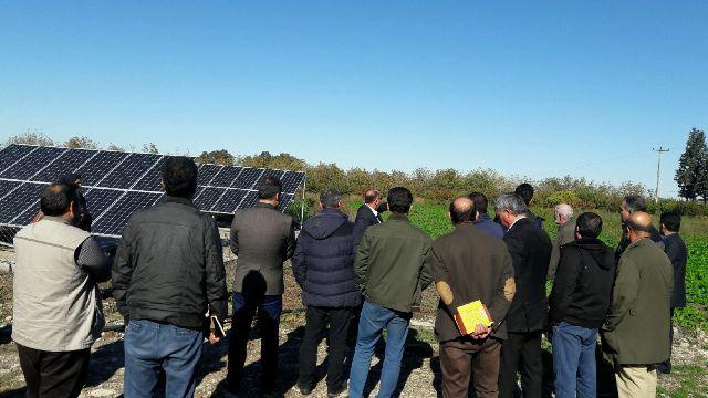 N9709069B بازدید اعضای نهاد بسیج مهندسین کشاورزی و همچنين منابع طبیعی استان گلستان از ایستگاه تحقیقات چالکی