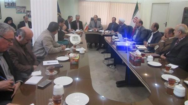 N978142B برگزاری جلسه شورای اداری در مرکز تحقیقات و همچنين آموزش کشاورزی و همچنين منابع طبیعی گلستان