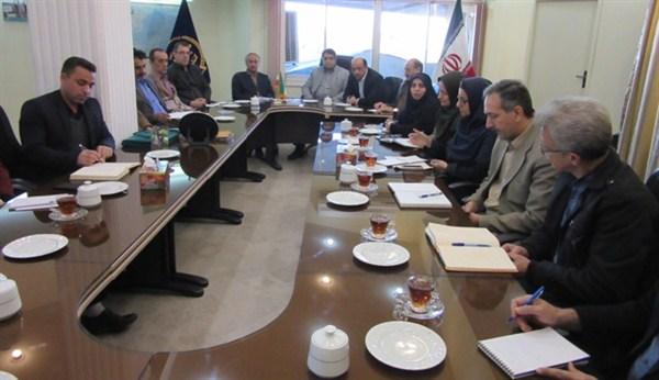 N9709195B برگزاری سومین جلسه عمومی سال شمسي ۹۷ در مرکز تحقیقات و همچنين آموزش گلستان