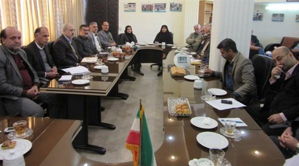 N9711171B برگزاری چهارمین جلسه سال شمسي ۱۳۹۷ شورای فرهنگی در مرکز تحقیقات و همچنين آموزش گلستان به مناسبت جشن چهل سالگی پیروزی انقلاب