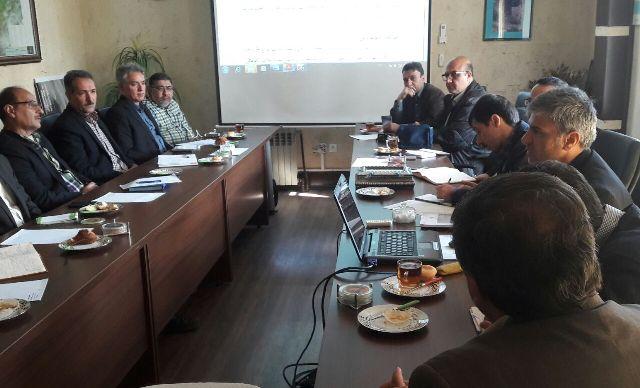 N9801213B برگزاری جلسه تحلیل سیل استان گلستان با حضور مدیران پژوهشکده حفاظت خاک و همچنين آبخیزداری کشور
