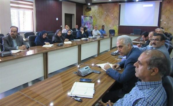 N9802291B  برگزاری نخستین جلسه سال شمسي ۹۸ شورای اداری مرکز تحقیقات و همچنين آموزش گلستان