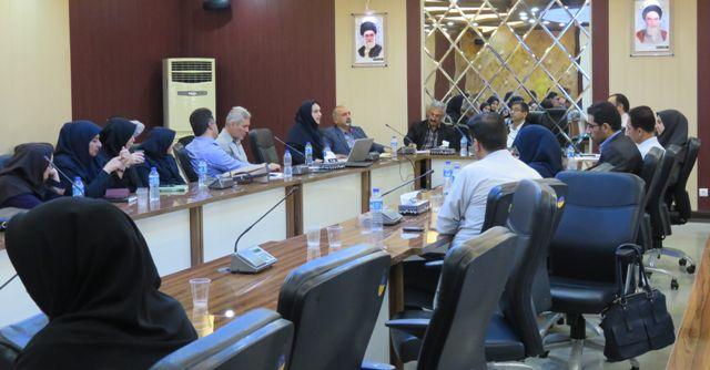 N9805194B برگزاری سلسله سخنرانی های علمی مرکز تحقیقات و همچنين آموزش گلستان در مرداد ۹۸ با حضور قائم مقام نهاد تحقیقات، آموزش و همچنين ترویج کشاورزی