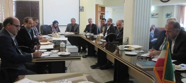N9809093B برگزاری جلسه شورای اداری مرکز تحقیقات و همچنين آموزش گلستان