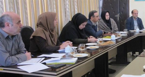 N9810141B برگزاری جلسه کارگروه توسعه مدیریت در مرکز تحقیقات و همچنين آموزش گلستان