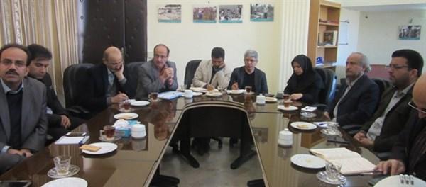 N9810181B برگزاری جلسه کمیته اقتصادی مرکز با موضوع بهره بري و استفاده از دانش فنی محققین برای درآمدزایی در مرکز تحقیقات و همچنين آموزش کشاورزی گلستان