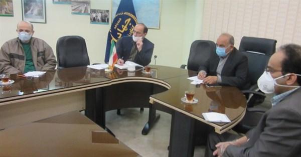 N9901191B برگزاری نخستین جلسه سال شمسي ۹۹ شورای پژوهشی مرکز تحقیقات و همچنين آموزش گلستان