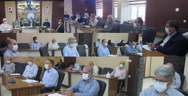N9904082B برگزاری جلسه شورای اداری مرکز تحقیقات و همچنين آموزش گلستان