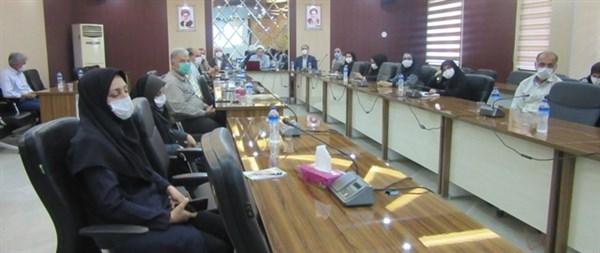 N9904241B برگزاری مراسم گرامی داشت هفته عفاف و همچنين حجاب در مرکز تحقیقات و همچنين آموزش گلستان