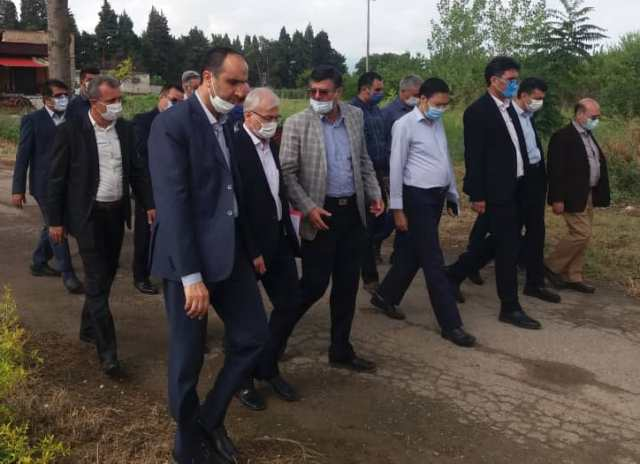 N9905141E سفر دکتر بازرگان دست يار وزیر جهاد کشاورزی به استان گلستان