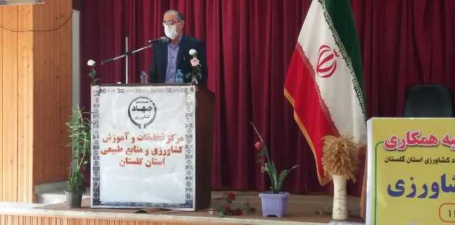 N9905261C برگزاریآیین عقد تفاهم نامه سه جانبه همکاری و همچنين افتتاح هنرستان کشاورزیدر واحد آموزشی شهید روحانی فرد کردکوی