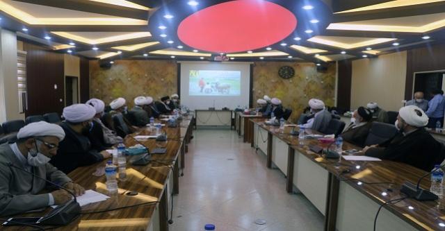 N9905312B برگزاری سومین گردهمایی ائمه جمعه استان در مرکز تحقیقات و همچنين آموزش گلستان