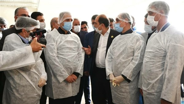 N9906053H حضور دکتر خاوازیوزیر جهاد کشاورزی در استان گلستان و همچنين افتتاح متمرکز پروژه های هفته حکومت