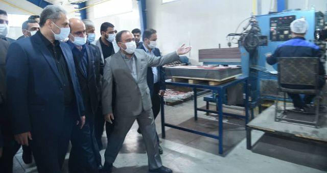 N9906053I حضور دکتر خاوازیوزیر جهاد کشاورزی در استان گلستان و همچنين افتتاح متمرکز پروژه های هفته حکومت