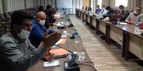 N9906101B حضور رئیس مرکز تحقیقات و همچنين آموزش گلستان در جلسه کارگروه تدوین استانداردهای صلاحیت حرفه ای حوزه زراعت