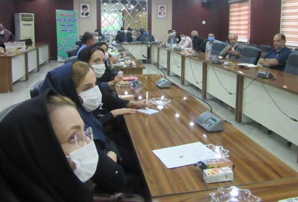 N9906171C برگزاری نشست علمی فعالان حوزه تولید غذای سالم در مرکز تحقیقات و همچنين آموزش گلستان