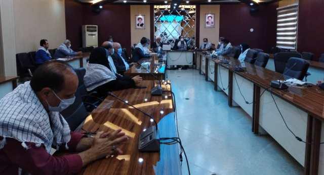 N9907093B برگزاری سومین جلسهشورای فرهنگی و همچنين نشست صمیمی ایثارگران در مرکز تحقیقات و همچنين آموزش گلستان