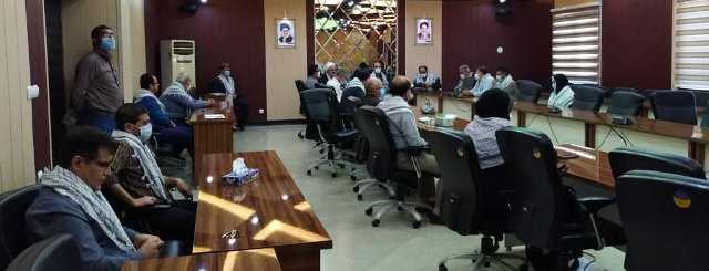 N9907093C برگزاری سومین جلسهشورای فرهنگی و همچنين نشست صمیمی ایثارگران در مرکز تحقیقات و همچنين آموزش گلستان