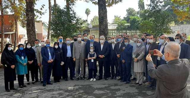 IMG 20201010 WA0007 بازدید دست يار علمی و همچنين فناوری رئیس جمهور از دستاوردهای شرکت های دانش بنیان مرکز رشد واحدهای فناور کشاورزی استان گلستان