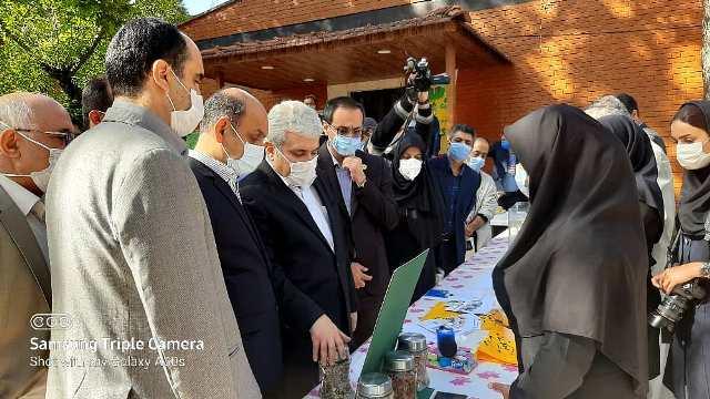 IMG 20201010 WA0014 بازدید دست يار علمی و همچنين فناوری رئیس جمهور از دستاوردهای شرکت های دانش بنیان مرکز رشد واحدهای فناور کشاورزی استان گلستان