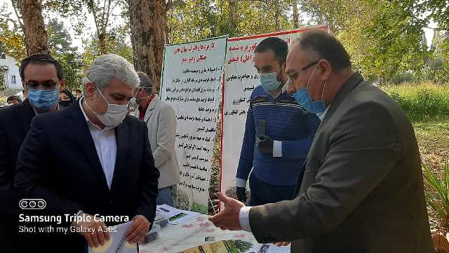 IMG 20201010 WA0022 بازدید دست يار علمی و همچنين فناوری رئیس جمهور از دستاوردهای شرکت های دانش بنیان مرکز رشد واحدهای فناور کشاورزی استان گلستان