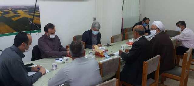 N9907121B برگزاری جلسه برنامه جذاب و جالب و خوب ریزی آموزش هایهنرستان وابسته کشاورزیواحد آموزش شهید روحانی فرد کردکوی