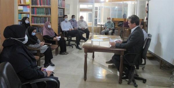 N9908033A برگزاری جلسه نحوه بهره برداری از منابع دیجیتال کتابخانه مرکز تحقیقات و همچنين آموزش گلستان
