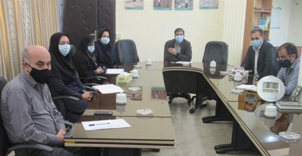 N9908212B برگزاری جلسه کارگروه توسعه مدیریت مرکز تحقیقات و همچنين آموزش گلستان