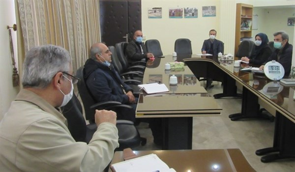 N9910171A برگزاری جلسه کشت مستقیم برنج در بستر خشک (خشکه کاری) در مرکز تحقیقات و همچنين آموزش گلستان
