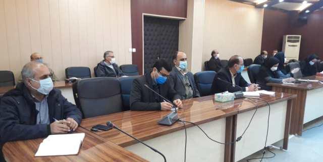 N9912271B برگزاری آخرین جلسه شورای اداری مرکز تحقیقات و همچنين آموزش گلستان در سال شمسي۱۳۹۹