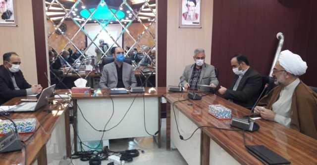 N9912271C برگزاری آخرین جلسه شورای اداری مرکز تحقیقات و همچنين آموزش گلستان در سال شمسي۱۳۹۹