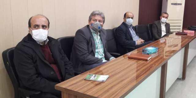 N9912271E برگزاری آخرین جلسه شورای اداری مرکز تحقیقات و همچنين آموزش گلستان در سال شمسي۱۳۹۹