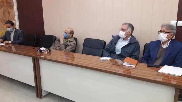 N9912271F برگزاری آخرین جلسه شورای اداری مرکز تحقیقات و همچنين آموزش گلستان در سال شمسي۱۳۹۹