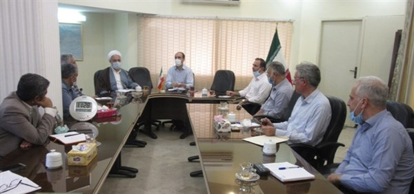 N0003111B برگزاری نخستین جلسه سال شمسي۱۴۰۰شورای فرهنگی در مرکز تحقیقات و همچنين آموزش گلستان
